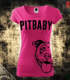 PITBABY [Dream Child] Pink női póló