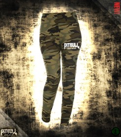 Pit Bull Believe [Stronger than Ever] Camo Leggings